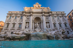 Trevi fontanna Rzym, Włochy Obraz Royalty Free