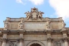 Trevi fontanny pałac Zdjęcie Royalty Free