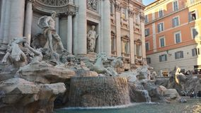 Trevi fontein Stock Afbeeldingen