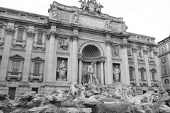 Trevi Fontein (Fontana Di Trevi) Stock Afbeeldingen