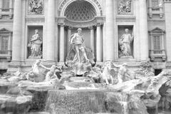 Trevi Fontein (Fontana Di Trevi) Royalty-vrije Stock Afbeelding