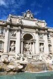 Trevi Fontein, Rome, Italië Royalty-vrije Stock Foto's