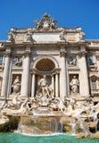 Trevi fontein in Rome Stock Fotografie
