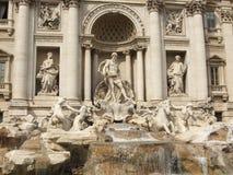 Trevi Fontein in Rome Stock Foto's