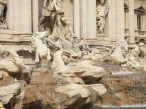 Trevi Fontein in Rome Royalty-vrije Stock Afbeelding