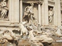Trevi Fontein Rome Royalty-vrije Stock Fotografie