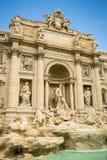 Trevi Fontein, Rome Stock Foto's