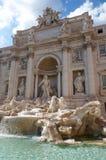 Trevi fontein in Rome, Italië stock fotografie