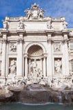 Trevi fontein in Rome, Italië Royalty-vrije Stock Foto's