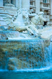 Trevi fontein, Rome, Italië Stock Afbeelding