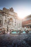 Trevi fontein in Rome, Italië royalty-vrije stock foto