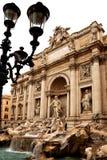 The Trevi Fountain Stock Photos