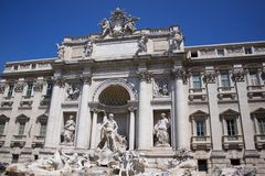 Trevi Fountain Stock Photos