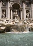 Trevi Fountain 2. Trevi Fountain in Rome, Italy stock photography