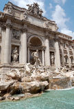 Trevi fountain. A trevi fountain in rome - italy Royalty Free Stock Photography