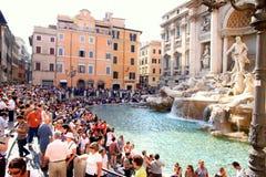Trevi Fountain stock photography