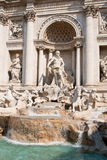 The Trevi Fountain. Or Fontana di Trevi is the largest and most famous fountain in Rome Stock Photos