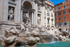 The Trevi Fountain Royalty Free Stock Image