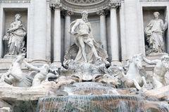 Trevi Fountain Stock Images