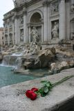 Trevi Fountain. The Trevi Fountain in Rome, Italy Stock Photo