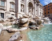Trevi Fountain Stock Image
