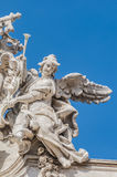 Trevi Fountain, the Baroque fountain in Rome, Italy. Stock Images