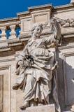 Trevi Fountain, the Baroque fountain in Rome, Italy. Stock Photo
