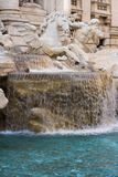 Trevi fountain Closeup Royalty Free Stock Photography