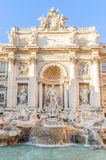 Trevi fountain (Fontana di Trevi in Italian) Stock Photos