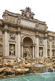 Trevi Fountain (Fontana di Trevi) in Rome. Italy Royalty Free Stock Photography