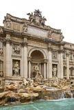 Trevi Fountain (Fontana di Trevi) in Rome. Italy Royalty Free Stock Photography