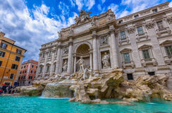 Trevi Fountain Fontana di Trevi in Rome. Italy Royalty Free Stock Image