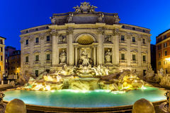 Trevi Fountain Fontana di Trevi in Rome. Italy.  Royalty Free Stock Images