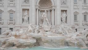 The Trevi Fountain Fontana di Trevi in Rome, Italy. Stock Photo