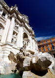 Trevi Fountain In Rome, Italy Stock Photos
