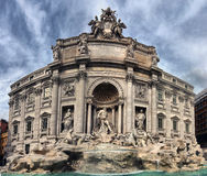 The Trevi Fountain (Italian: Fontana di Trevi) Stock Photography