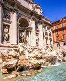 Trevi Fountain Italian: Fontana di Trevi, Rome, Italy, Europe Stock Photos