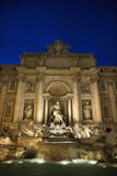 Trevi Fountain at Night Royalty Free Stock Photos