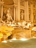 Trevi Fountain by night Royalty Free Stock Photos