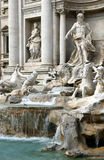 Trevi Fountain Roma Royalty Free Stock Photo