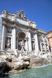 The Trevi Fountain. Roma (Rome), Italy Royalty Free Stock Photography