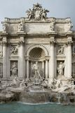 The Trevi Fountain - Rome Royalty Free Stock Photo