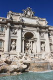 Trevi fountain of Rome Stock Images