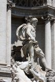 Trevi Fountain in Rome Royalty Free Stock Photography