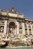 Trevi fountain in Rome Royalty Free Stock Images