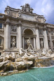 Trevi Fountain in Rome Royalty Free Stock Image