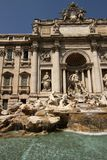 Trevi Fountain in Rome Stock Photo