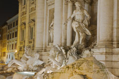 Trevi Fountain, Rome Stock Photos
