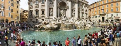 Trevi Fountain, Rome. Royalty Free Stock Photo