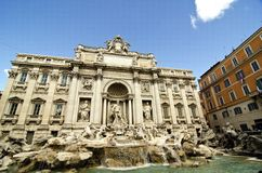 Trevi Fountain, Rome Stock Images